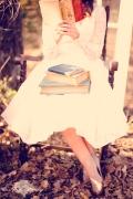 Girl reading 2