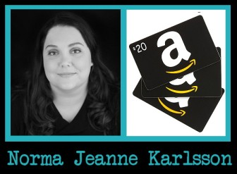 norma jeanne karlsson - giveaway