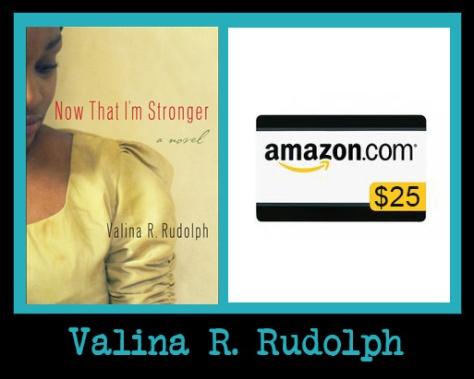valina rudolph - giveaway