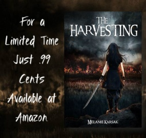 melanie karsak - the harvesting sales