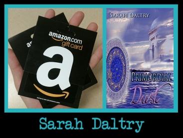 sarah daltry - giveaway