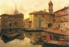 Laghetto Santo Stefano a Milano