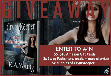 Crypt Keeper Giveaway Graphic
