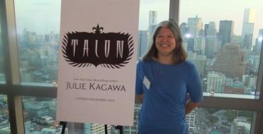 julie kagawa - talon pres