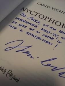 carlo vicenzi - autografo
