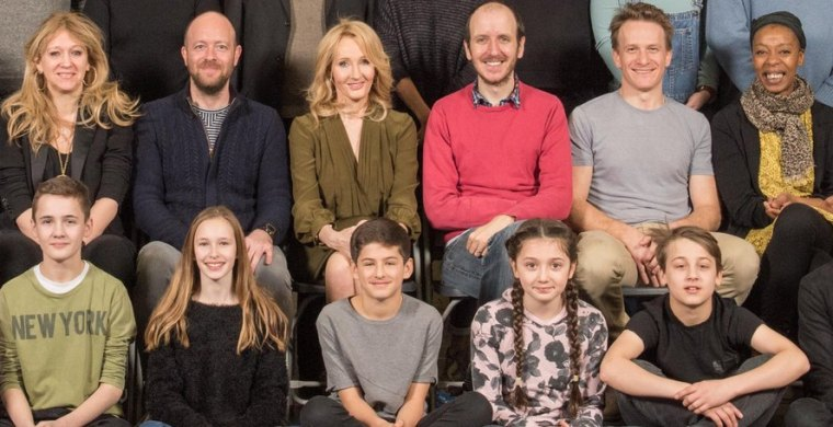jk rowling - cursed child actors