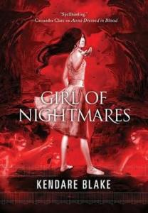 kendare blake - girl of nightmares