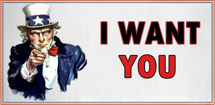 rubrica - i want you