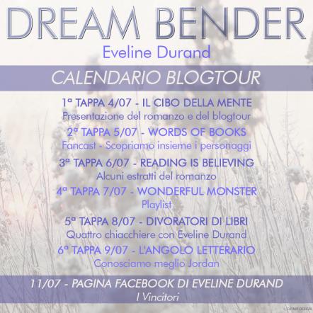 eveline durand - blogtour calendario